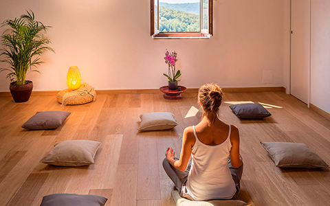 Sala de meditação
